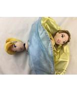 Disney Bell and Cinderella Flip Doll Topsy-Turvy Plush Doll Parks - $18.69