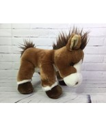 Ganz Heritage Collection Horse Pony Plush Stuffed Animal Brown White H13924 - $27.76