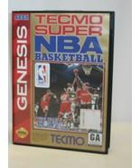 Tecmo Super NBA Basketball Case for Sega Genesis – No Game Disc Included - $12.86