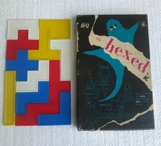 Vtg 1973 Kohner Bros. Hi-Q HEXED GAME A Solitaire Puzzle Learning No. 11... - $24.74