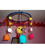 Crochet Pac Man Classic Hanging Mobile from the... - $45.00