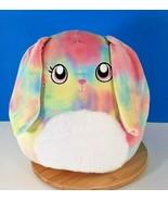 "Squishmallows Easter Candy Tie Dye Bunny Rabbit Plush 12"" Kellytoy 2021 New - $37.59"