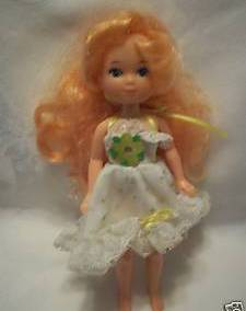 Lady Lovelylocks Maiden Curly Crown Doll in Outfit #2