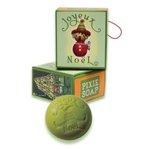 Joyeux Noel Holiday Pixie Christmas Soap Bar 55g 1.94oz - $7.99