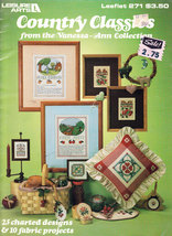 CROSS STITCH COUNTRY CLASSICS VANESSA-ANN COLLECTION LEISURE - $4.95