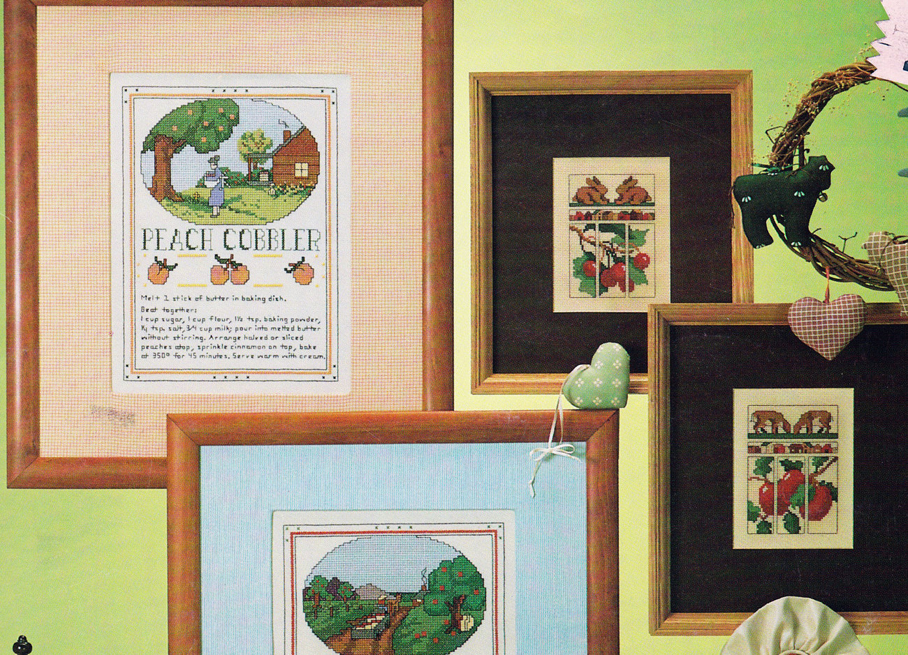 CROSS STITCH COUNTRY CLASSICS VANESSA-ANN COLLECTION LEISURE