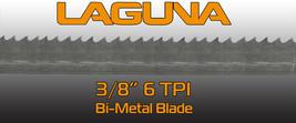 """Bi-Metal 3/8"""" X 6 TPI X 124"""" Bandsaw Blade Steel Cutting Bimetal Blades - $55.80"""
