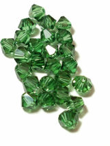 25pcs 3mm SWAROVSKI CRYSTAL FACETED BICONE BEADS - You Choose the Color image 8