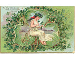 The Dear Little Shamrock 1909 Vintage Post Card