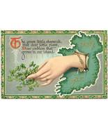 The Green Little Shamrock 1912 Vintage Post Card - $6.00