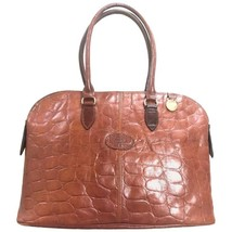 1df98c4b53 Vintage Mulberry croc embossed brown leather large tote in bolide bag  shape. Mas -  382.00