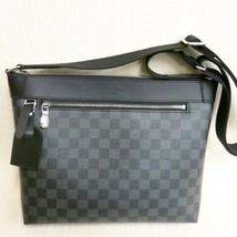 Auth Louis Vuitton Damier Gras fit Mick PM shoulder bag Men's N40003 K - $1,754.02