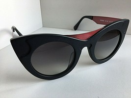 New WILL.I.AM WA 500S03 48mm Cats Eye Black Women's Sunglasses  - $169.99