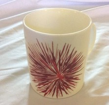 Starbucks 2014 12 fl oz Ceramic Coffee Mug Red Cream 1 - $5.70