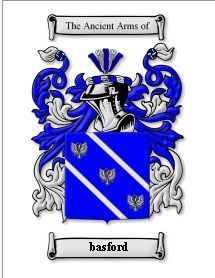 BASFORD Coat of Arms BASFORD Family Crest History Print Bonanza