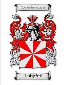 BASINGFORD Coat of Arms BASINGFORD Family History Print Bonanza