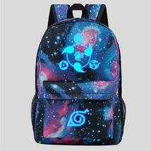Naruto Luminous Theme Backpack Schoolbag Daypack Bookbag Sharingan Starry Sky - $23.99