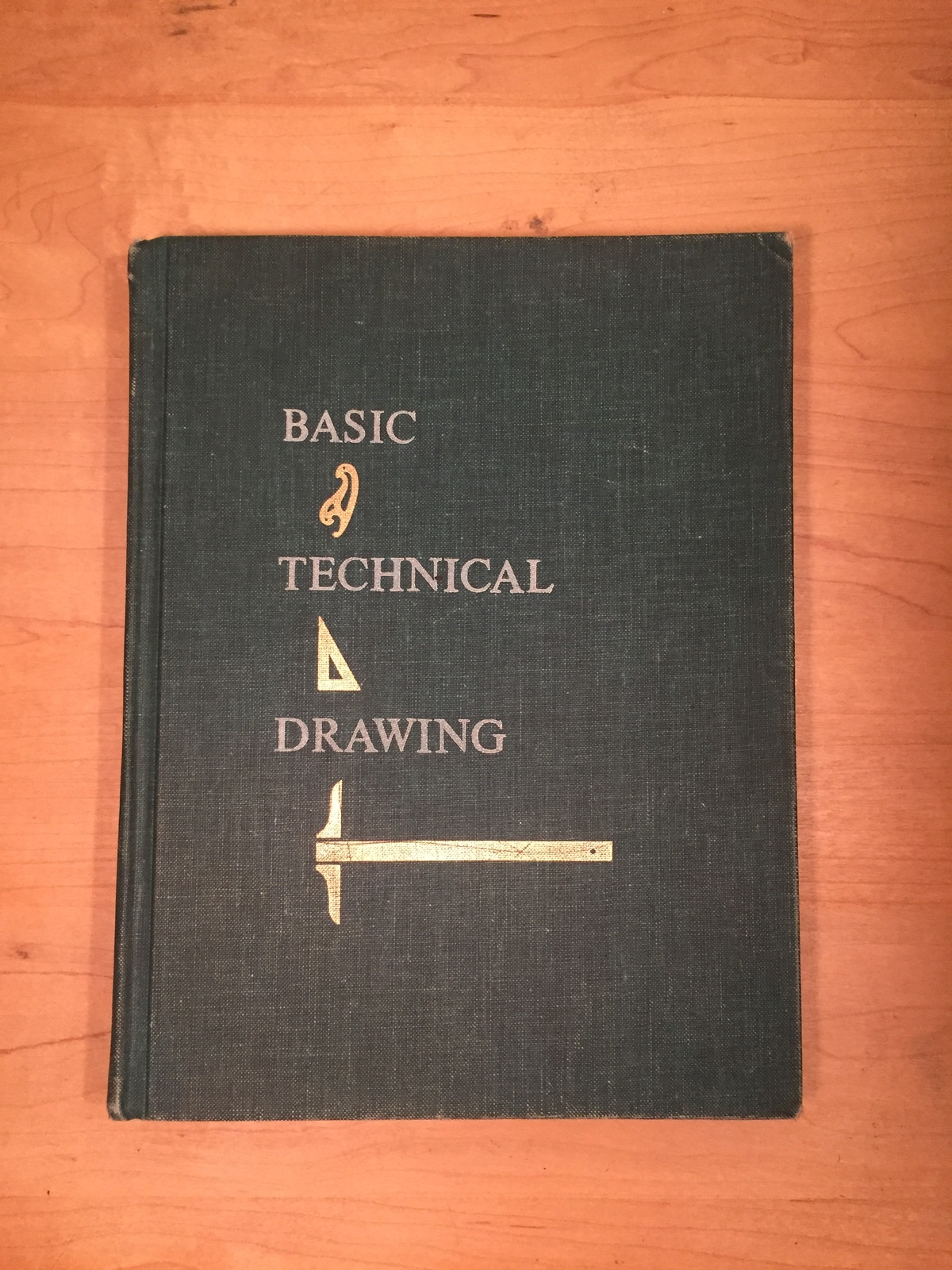1962: Basic Technical Drawing textbook. By Henry Cecil Spencer