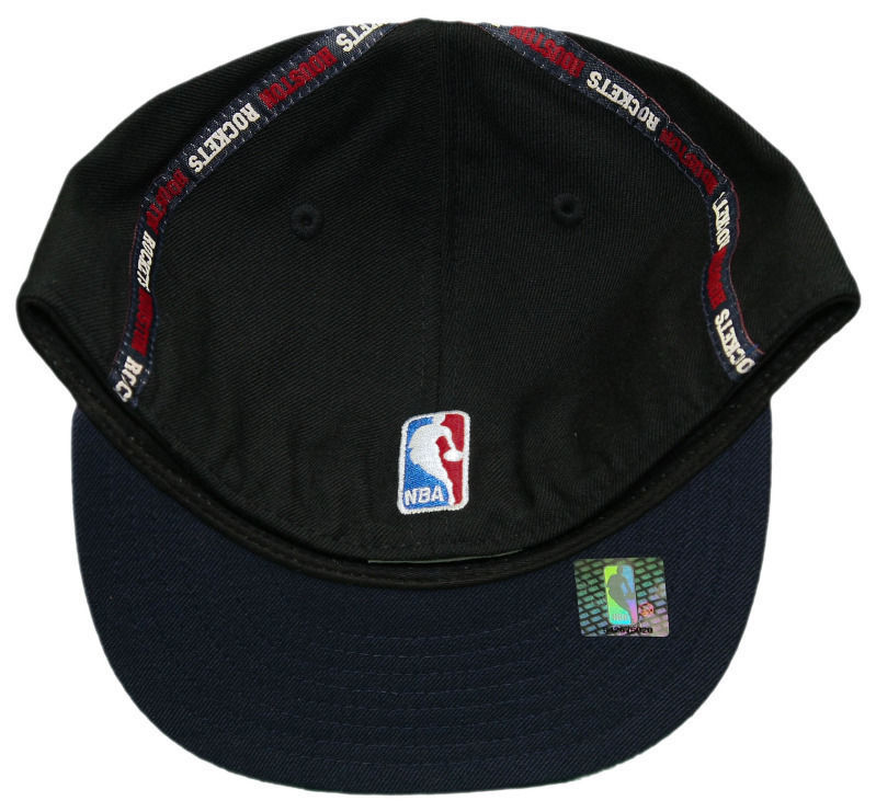 REEBOK HOUSTON ROCKETS HAT NEW 7 1/4 CAP THROWBACK ALL WOOL FITTED VINTAGE %100 image 3