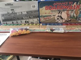 Vintage 1985 ADVANCE TO BOARDWALK Board Game By Parker Brothers Ages 8+ ... - $16.82