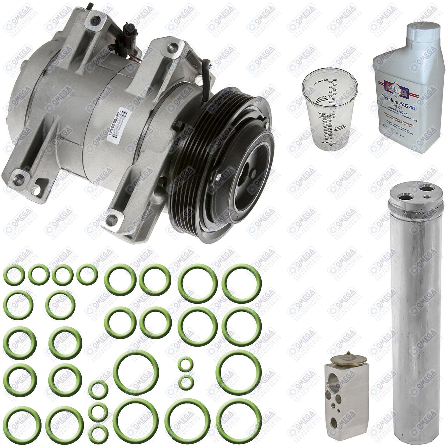 08 13 nissan rogue ac air conditioning compressor repair kit