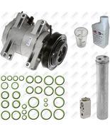08-13 Nissan Rogue 2.5 Auto AC Air Conditioning Compressor Repair Part Kit - $357.71