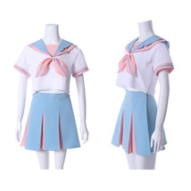 Janpanese School Uniform Women Lovely Rabbit Ears Sailor Suit Cosplay Co... - $49.99