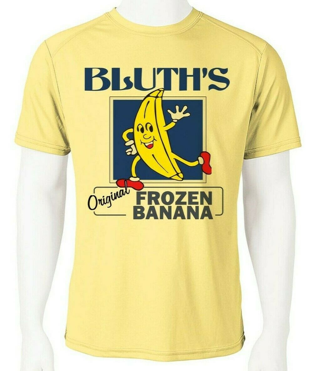 Bluth's Frozen Bananas Dri Fit graphic Tshirt moisture wicking SPF funny tee