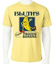 Bluth's Frozen Bananas Dri Fit graphic Tshirt moisture wicking SPF funny tee image 1