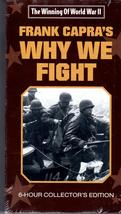 The Winning Of World War II-Frank Capra's Why We Fight VHS -6 Hr. Collec... - $7.00