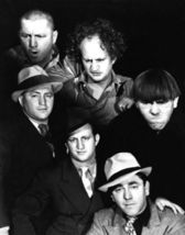 3 Stooges Promo Moe Larry Curly SFOL Vintage 11X14 BW TV Memorabilia Photo - $12.95