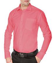 Men's Fashion Fit Long Sleeve Button Down Pocket Pattern Dress Shirt image 13