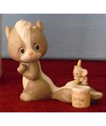 Brighten Someone's Day Skunk & Mouse Figurine 1987 Precious Moments 1059... - $16.95
