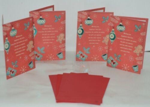 Hallmark XZH 626 1 Ornaments Snowflakes Christmas Card Package 4