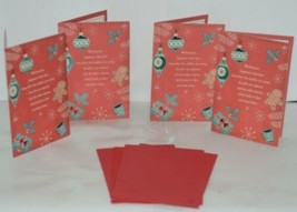 Hallmark XZH 626 1 Ornaments Snowflakes Christmas Card Package 4 image 1