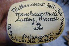 Vaillancourt Cardinal Coat Santa Signed by Judi Vaillancourt image 6