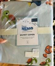 Pottery Barn Kids Finding Nemo Duvet Cover Set Blue Twin & Standard Sham... - $121.66