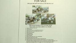 1993 Harley Davidson FLSTC Heritage Softail For Sale in Elkorn, NE 68022 image 3
