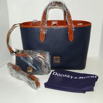 Dooney & Bourke Briana & Med Wristlet Set MIDNIGHT BLUE