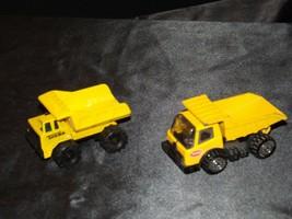 Die-cast Dump Truck Tonka (2) AA19-1513 Vintage