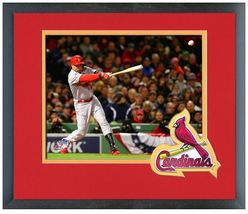 Carlos Beltran RBI Single Game 2 2013 World Series - 11 x 14 Matted/Framed Photo - $43.55