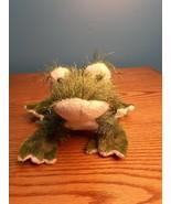 Ganz Webkinz Green Frog HM001 Plush Stuffed Toy Animal Fuzzy - $8.17