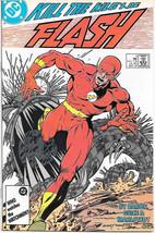 The Flash Comic Book #4 Second Series DC Comics 1987 VFN/NEAR MINT NEW U... - $3.99