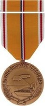 United States WW II Pacific Campaign Commemorative Medal and Ribbon - $34.64