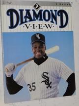 1992 WHITE SOX DIAMOND VIEW VOLUME 1 EDITION 1 FRANK THOMAS COVER - $4.00
