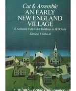Cut & Assemble Early New England Village - 12 Buildings, Dover Books, 1977 - $10.99