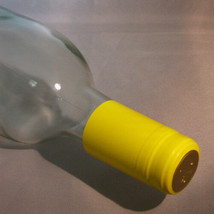 Yellow PVC Shrink Capsules For Wine Bottles - 30 - $6.39