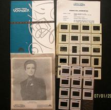 GENE RODDENBERRY:(STAR TREK:VOYAGER) 1ST SEASON RARE PRESSKIT,PHOTO,SLIDE - $296.99