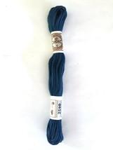 Needlepoint Yarn DMC  No 4 Matte Cotton #2590 Single Ply 10 M Skein 11 Y... - $1.95