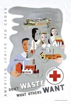 Don't Waste What Others Want: American Junior Red Cross by Dagmar Wilson - Art P - $19.99+